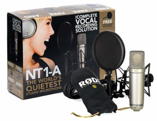 Rode NT1-A Anniversary Vocal Cardioid Condenser Microphone Package -- I use this for VO work!